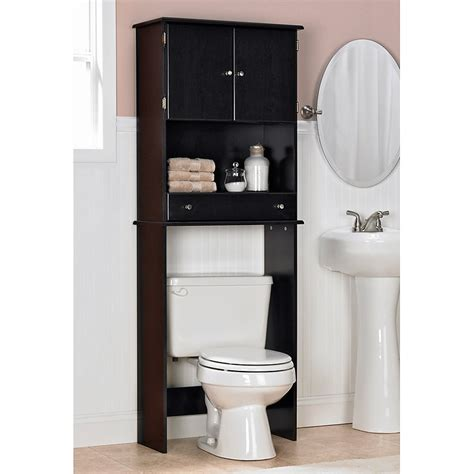 The Toilet Cabinet Walmart Canada by Ameriwood Espresso Bathroom Space Saver At Hayneedle