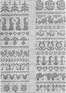 Crochet Stitch Chart Printable Hare Sopp Knitting Pinterest Fair Isles Chart And