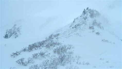 Winter Snow Storm Mountains