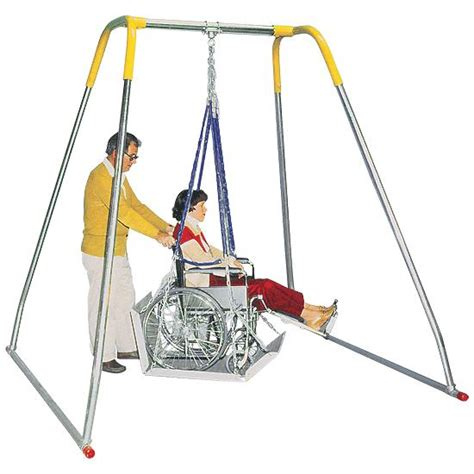 handicap swing wheelchair swing indoor swing frame only flaghouse
