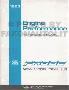 1993 Ford Probe Electrical And Vacuum Troubleshooting