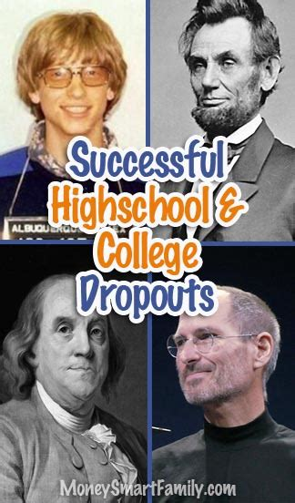 112 Highly Successful Dropouts from High School & College ...