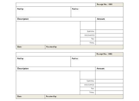 rent receipt pdf rent receipts pdf