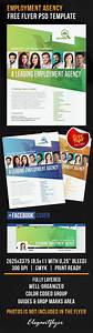 Employment agency free flyer psd template by elegantflyer for Facebook app template psd
