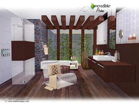 prime modern bathroom  simcredible  tsr sims  updates