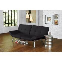 mainstays contempo futon sofa bed multiple colors