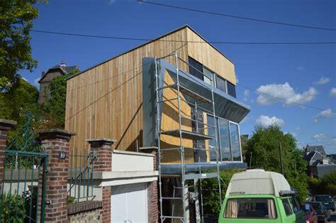 maison d architecte bois contemporaine rouen gt djsl bois