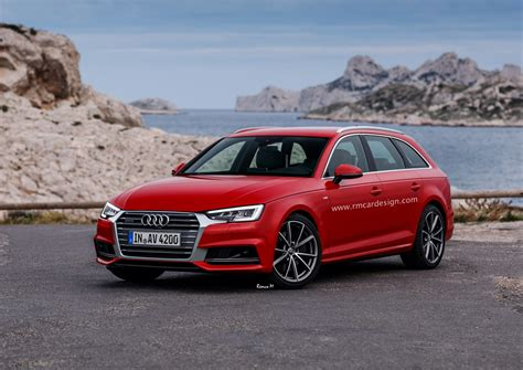Audi A4 B9 by All New Audi A4 Avant B9 Facelift Rendered Already Carscoops