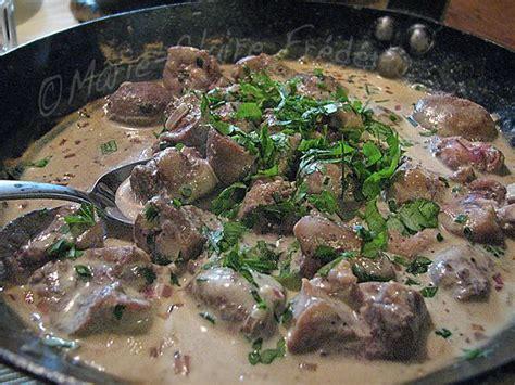 cuisiner rognons de veau comment cuisiner rognons de veau