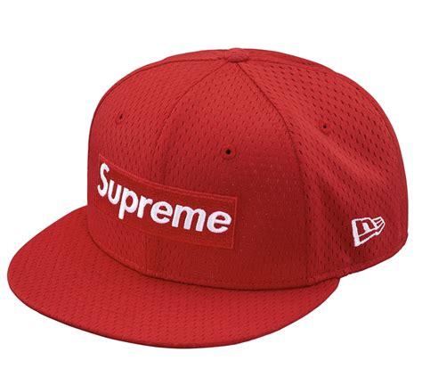 supreme hat authentkicks supreme mesh box logo new era hat