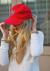 83 best images about Cap outfits on Pinterest | Leather baseball cap Jcrew and Baseball cap outfit
