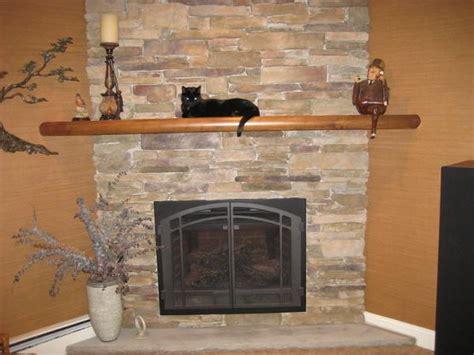 Decorating Corner Napoleon Fireplace With Mantel Shelf