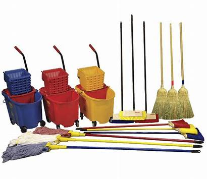 Cleaning Supplies Clipart Coded Colour Services Clip