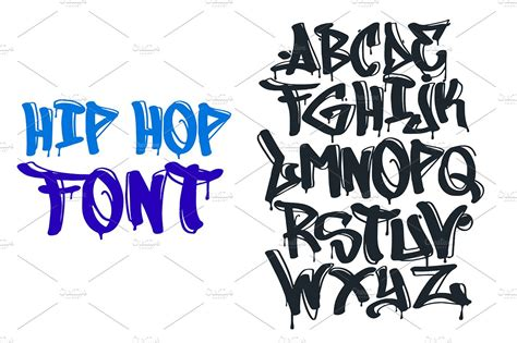 Grafiti Foto : Hip Hop Graffiti Font