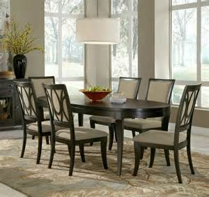 Oval Dining Table Set 6