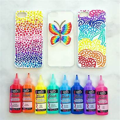 Phone Paint Diy Cases Puffy Painting Take