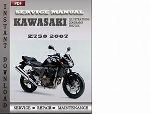 Kawasaki Z750 2007 Factory Service Repair Manual Download