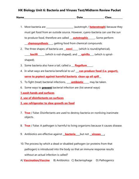 worksheet virus and bacteria worksheet grass fedjp
