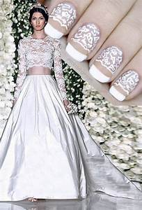 1409 best nail polish ideas images on pinterest cute With wedding dress nail polish