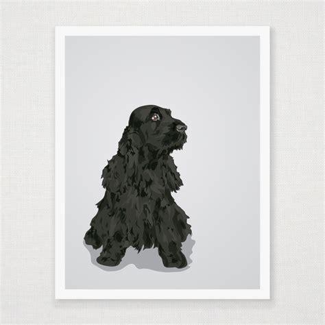 bella  english cocker spaniel art print