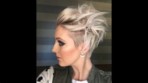quick messy short hairstyle youtube