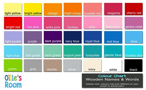 yellow paint color names