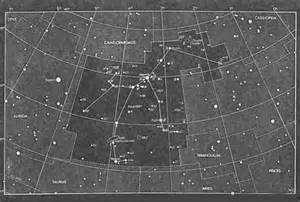 Perseus Star Constellation Map
