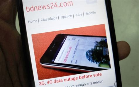 Bdnews24 Mobile by Bangladesh Blocks Mobile Services For Election