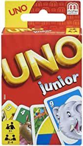 foto de UNO Junior Jeu de Société et de Cartes avec dessins d