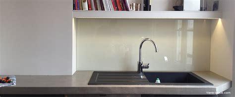 Cuisine En Verre - crédence en verre laqué pour votre cuisine verre laque com