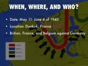 Battle of Dunkirk Location