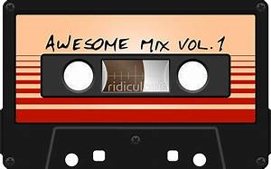 """""""Awesome Mix Vol 1"""" Stickers by ridiculouis Redbubble"""