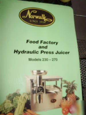 Norwalk 270S stainless steel juicer outstanding