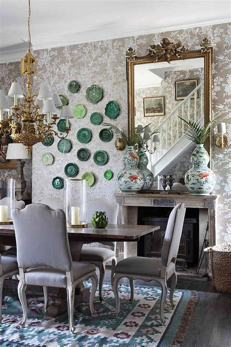 shabby chic dining room wallpaper 50 cool and creative shabby chic dining rooms