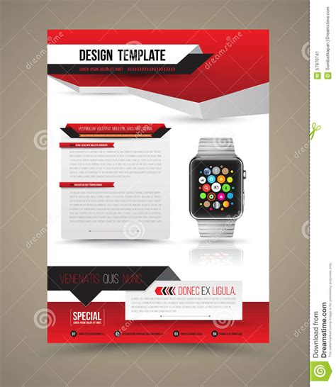 abstract design vector template layout  smart
