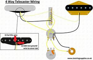 Image Of 4 Way Telecaster U00ae Harness