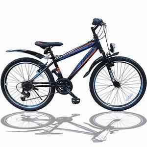 Leichtes Kinderfahrrad 24 Zoll : 24 zoll mountainbike fahrrad mit gabelfederung real ~ Jslefanu.com Haus und Dekorationen