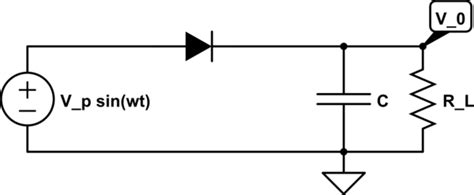 Max Diode Current Half Wave Rectifier Electrical