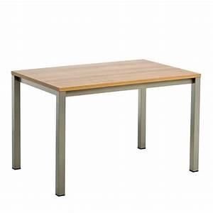 Table Cuisine Rectangulaire : table de cuisine rectangulaire en stratifi vienna 4 pieds tables chaises et tabourets ~ Teatrodelosmanantiales.com Idées de Décoration