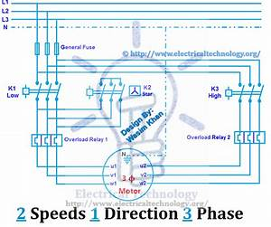 6 Lead 2 Speed Motor Wiring Diagram