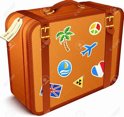 Suitcase Clipart Suitcases Vector Leather Koffer Reisen