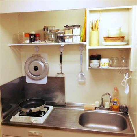 Japanese Kitchen Apartment by Well Organized Small Japanese Kitchen