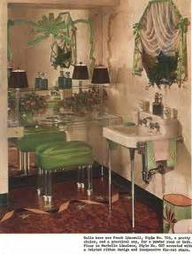 1940s bathroom design 1940s decor 32 pages of designs and ideas from 1944 retro renovation