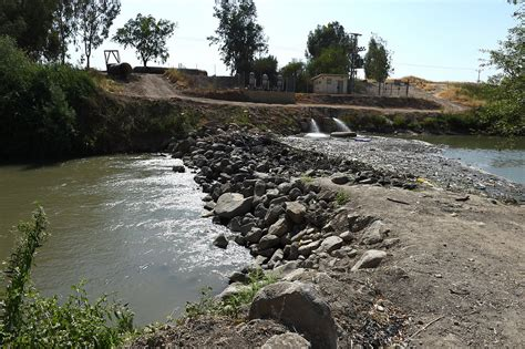 Dams Are Drying Out The Jordan River