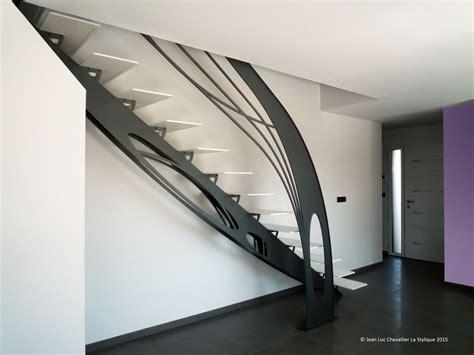 Modele D Escalier Interieur #2  Escalier Design M233tal