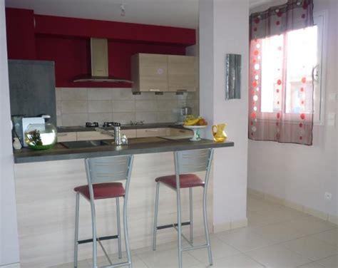 cuisine ouverte avec bar sur salon cuisine ouverte photo 1 4 bordeau et gris