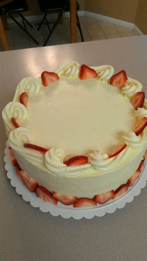 strawberry bavarian cream cake   creations