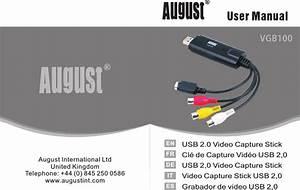 August Vgb100  Manual En 20160909 Vgb100 En