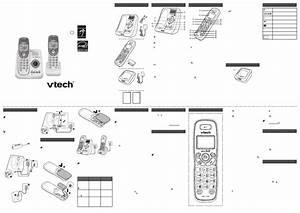 Vtech Dect 6 0 Cs6124-2 User U0026 39 S Manual