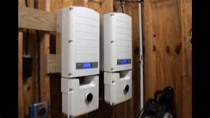 Solaredge Solar Inverter - First Time Powerup